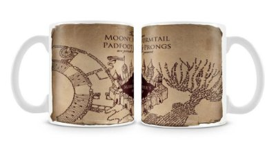 Caneca Mapa Maroto - Harry Potter