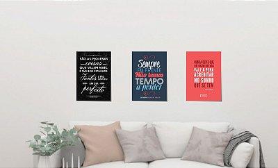 Trio quadros decorativos - Legião Urbana