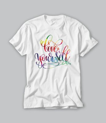 Camiseta love yourself