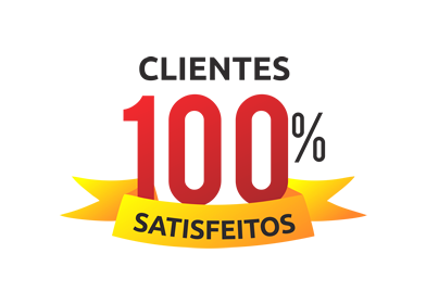 clientes 100% satisfeitos