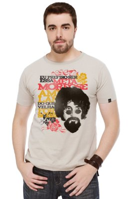 Camiseta Masculina Metamorfose Bege