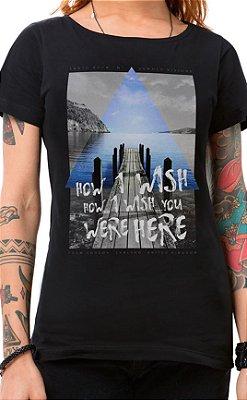 Camiseta Feminina How I Wish Preto