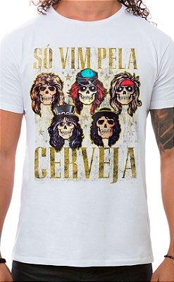 Camiseta Masculina Sweet Beer O Mine Branco