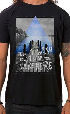 Camiseta Masculina How I Wish Preto