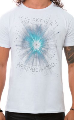 Camiseta Masculina Neighborhood Sky Branco