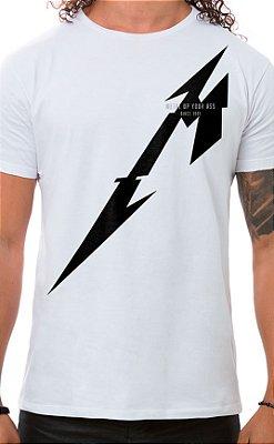Camiseta Masculina Metal Up Branco