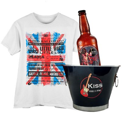 KIT Rock n Beer Feminino