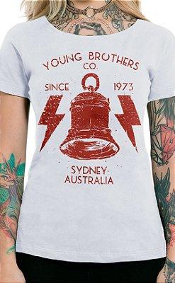 Camiseta Feminina High Voltage Branco