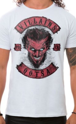 Camiseta Masculina Villains of QOTSA Branco