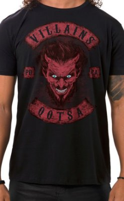 Camiseta Masculina Villains of QOTSA Preto