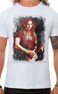 Camiseta Masculina Floydian Numb Branco