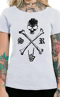 Camiseta Feminina Underdog Branco