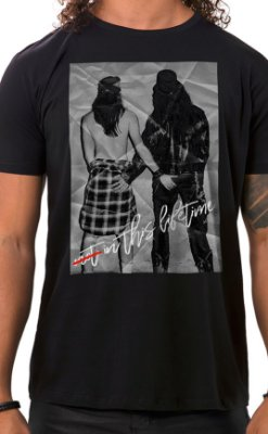 Camiseta Masculina Not in this lifetime Preto