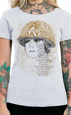 Camiseta Feminina Boy Branco