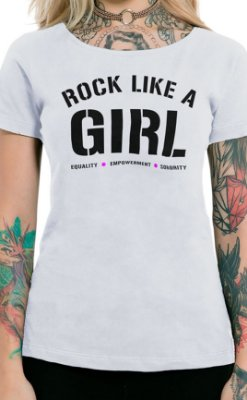 Camiseta Feminina Empowerment Branco