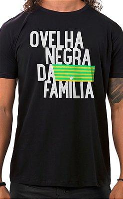 Camiseta Masculina Ovelha Negra Preto