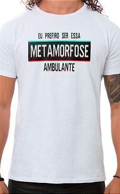 Camiseta Masculina Metamorfose Branco