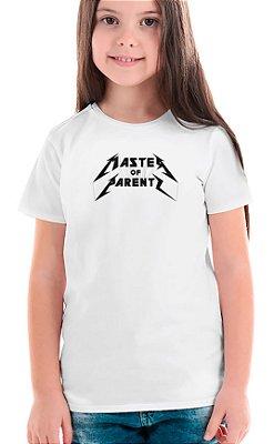 Camiseta Infantil Master of Parents Branco