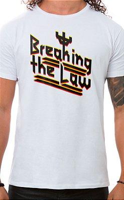 Camiseta Masculina Judas Law Branco