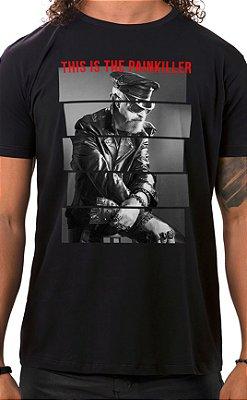 Camiseta Masculina Painkiller Preto