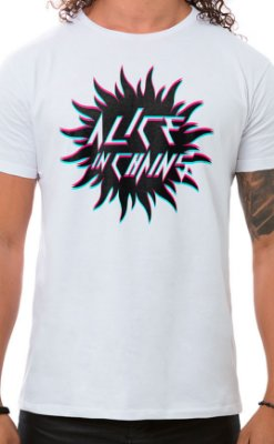 Camiseta Masculina Sun in Chains Branco