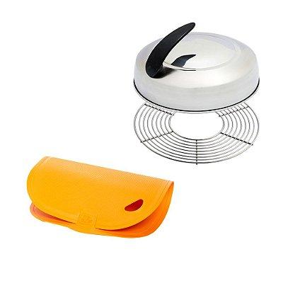 Kit Defumador - Get Grill e Tábua de Corte Flexível - LR