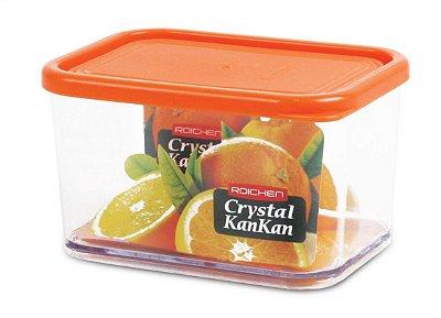Pote Organizador de Geladeira Crystal Kankan - 645ml