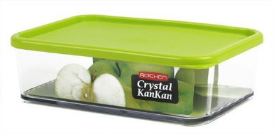 Pote Organizador de Geladeira Crystal Kankan - 1000mL