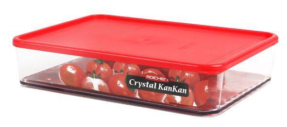 Pote Organizador de Geladeira Crystal Kankan - 2200ML