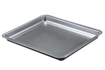 Assadeira Baixa Multiuso Guardini Silver Elegance Antiaderente – 26x37cm - Cinza