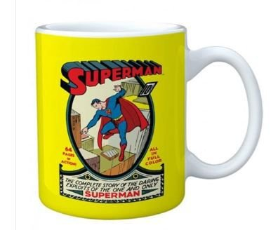 Caneca Superman - Porcelana - 300 ml