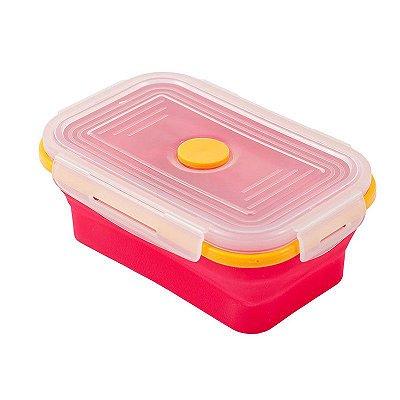 Yuze lunchbox retrátil - Rosa