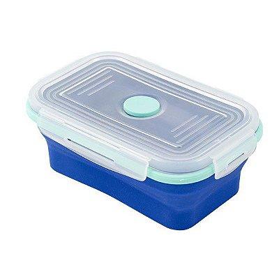 Yuze lunchbox retrátil - Azul
