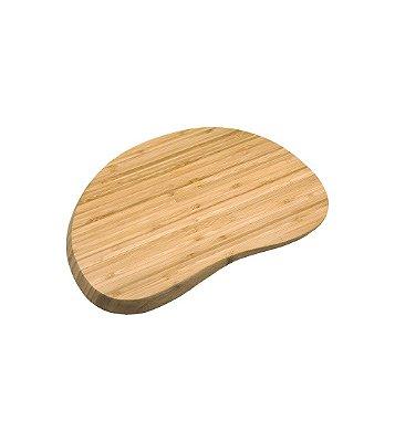 Tábua Irregular Arredondada de Bambu - 36 cm - OIKOS