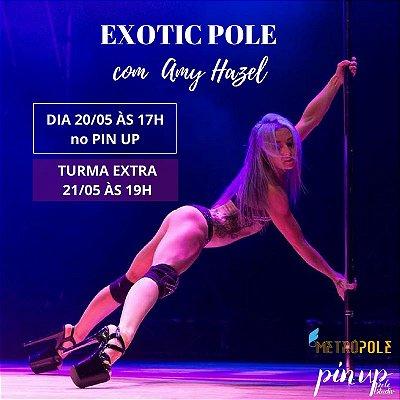 21/05 - 19h - EXOTIC COREO com Amy Hazel