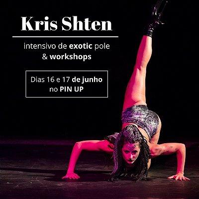 16/06 - 16h30 - Exotic Dance Básico com Kris Shten