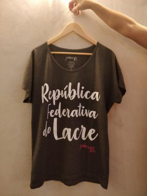 Blusa Oversize | PIN UP | República do Lacre