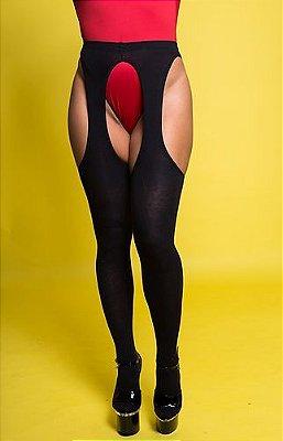 Meia-calça Peekaboo