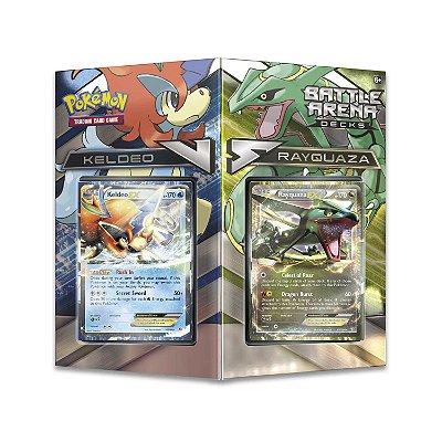 Pokémon Arena De Batalha Keldeo Vs Rayquaza