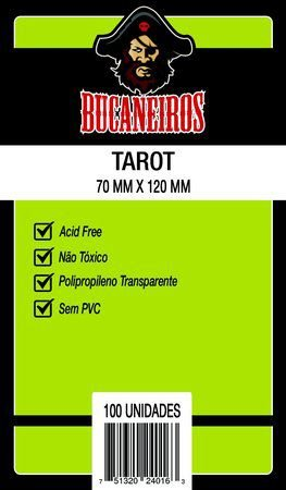 Sleeves TAROT 70 x 120 mm - Bucaneiros