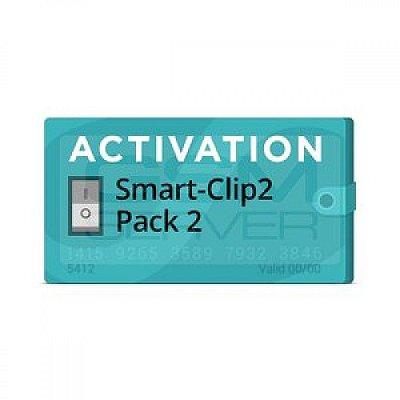 Pack 2 Ativação para Smart-Clip2
