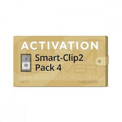 Pack 4 Ativação para Smart-Clip2