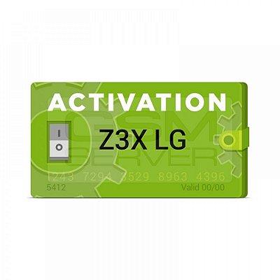 Ativação Z3X LG