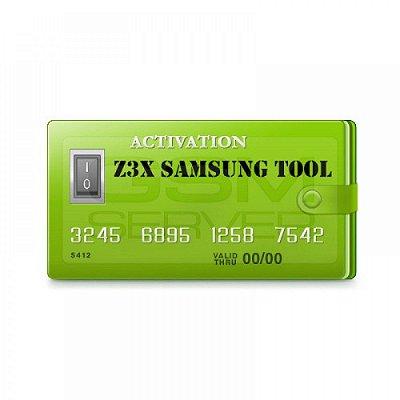 Ativação Samsung Tool Z3X