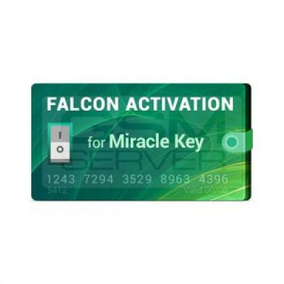 Ativação Falcon para Miracle Key Dongle