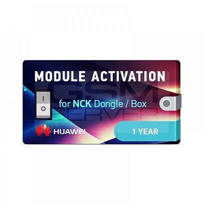 Ativação do módulo Huawei para NCK Dongle / NCK Box 1 ano