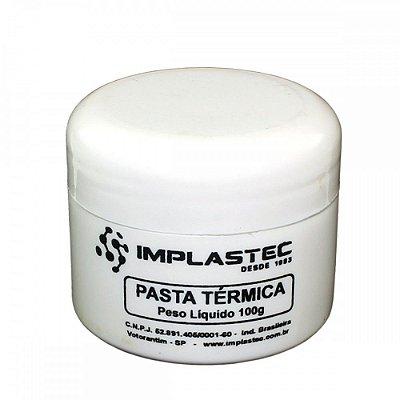 Pasta Termica Branca Implastec / POTE 100GR