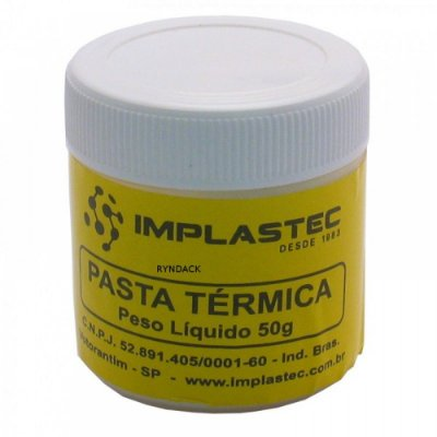 Pasta Termica Branca Implastec / POTE 50GR