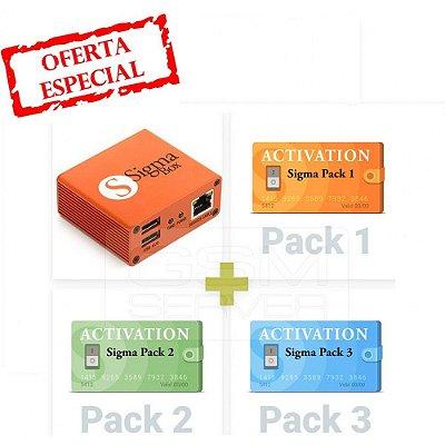 Sigma Box com Conjunto de Cabos + Pacote de Ativações 1, 2, 3