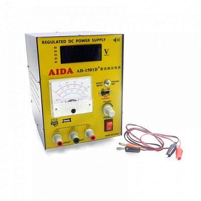 FONTE DE ALIMENTAÇÃO - AIDA 1501D+(220V) / FONTE AIDA AD1501D+ 220V